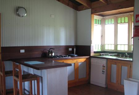 Lovedale Cottages kitchen