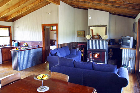 Living area and fire